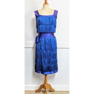 Vintage 60's does 20s style Flapper Dress  Small